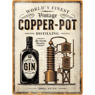 Copper Pot Gin - Special Edition - Blechschild