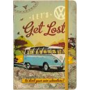 Notizbuch - VW Bulli - Let´s Get Lost